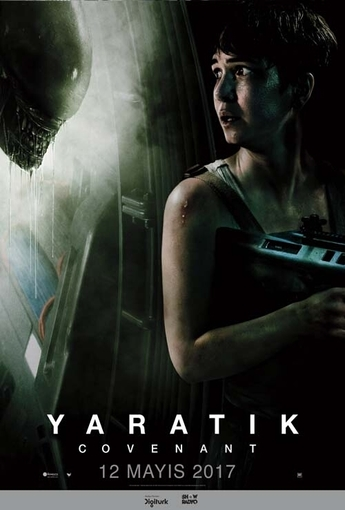 Yaratık: Covenant (Alien: Covenant) (2017) Afişi