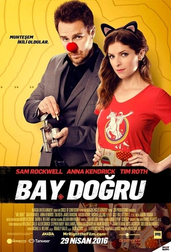 Bay Doğru (Mr. Right) (2016) Afişi