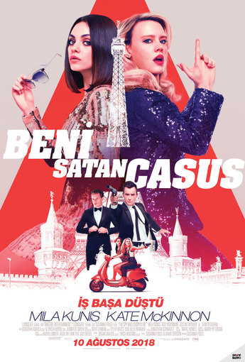 Beni Satan Casus (The Spy Who Dumped Me) (2018) Afişi