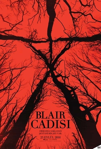 Blair Cadısı (Blair Witch) (2016) Afişi