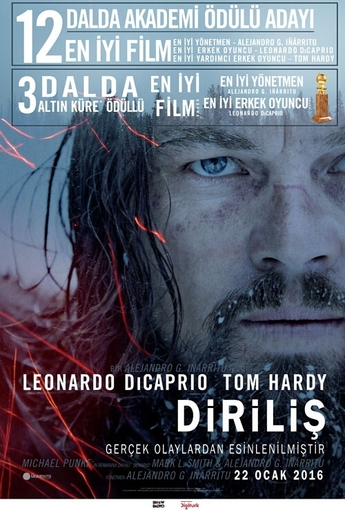 Diriliş (The Revenant) (2016) Afişi