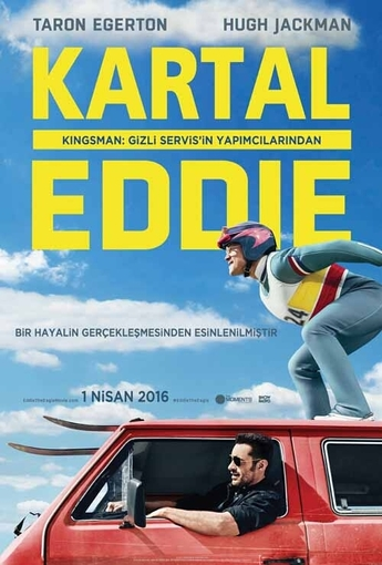 Kartal Eddie (Eddie the Eagle) (2016) Afişi