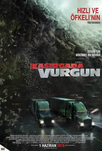 Kasırgada Vurgun (The Hurricane Heist) (2018) Afişi