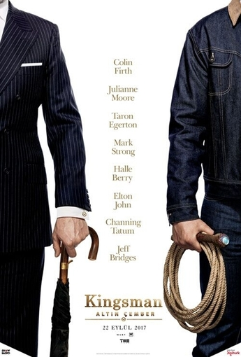 Kingsman: Altın Çember (Kingsman: The Golden Circle) (2017) Afişi