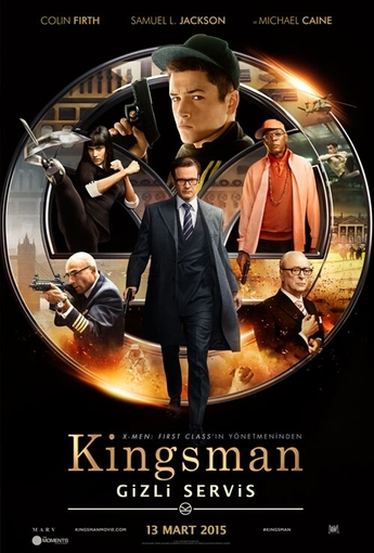 Kingsman: Gizli Servis (Kingsman: The Secret Service) (2015) Afişi