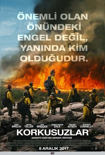 Korkusuzlar (Only the Brave) (2017) Afişi