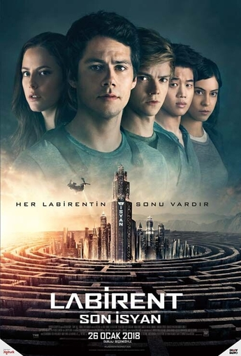 Labirent: Son Isyan (The Maze Runner: The Death Cure) (2018) Afişi