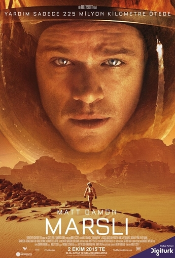 Marslı (The Martian) (2015) Afişi