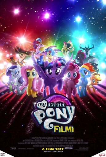 My Little Pony Filmi (My Little Pony: The Movie) (2017) Afişi