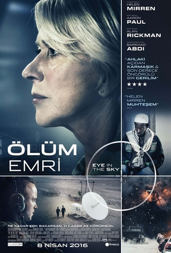 Ölüm Emri (Eye in The Sky) (2016) Afişi