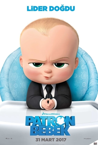 Patron Bebek (The Boss Baby) (2017) Afişi