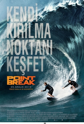Point Break (Point Break) (2015) Afişi