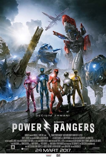 Power Rangers (Power Rangers) (2017) Poster
