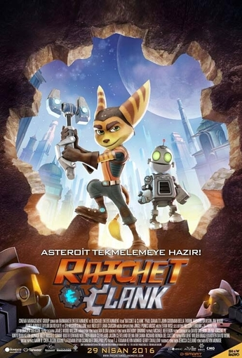 Ractchet And Clank (Ractchet And Clank) (2016) Afişi