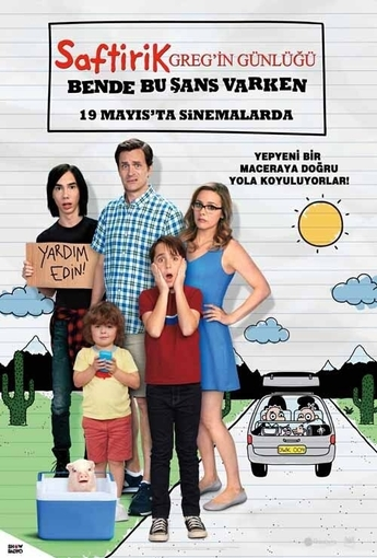 Saftirik Greg`in Günlüğü (Diary of a Wimpy Kid: The Long Haul) (2017) Afişi