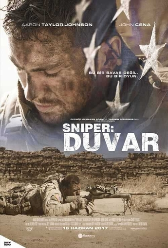 Sniper: Duvar (The Wall) (2017) Afişi
