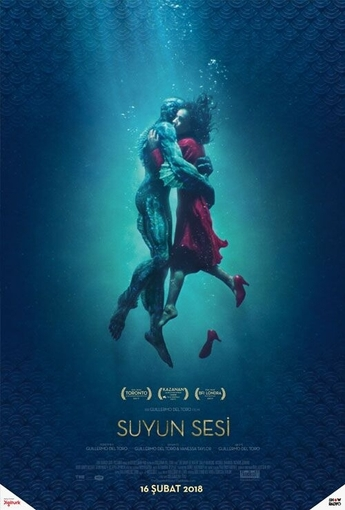 Suyun Sesi (The Shape of Water) (2018) Afişi